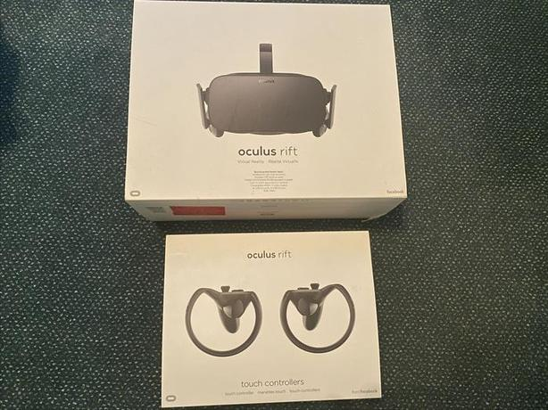 Fully Working Oculus Rift VR Headset