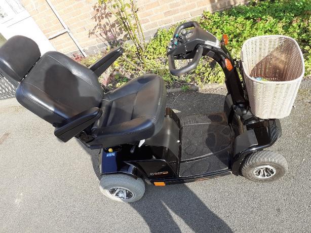 celebrity x sport 8mph mobility scooter