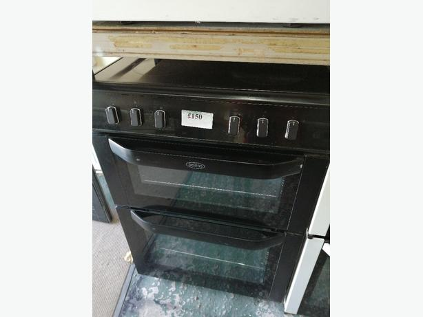 Belling 60 cm electric cooker with warranty at Recyk