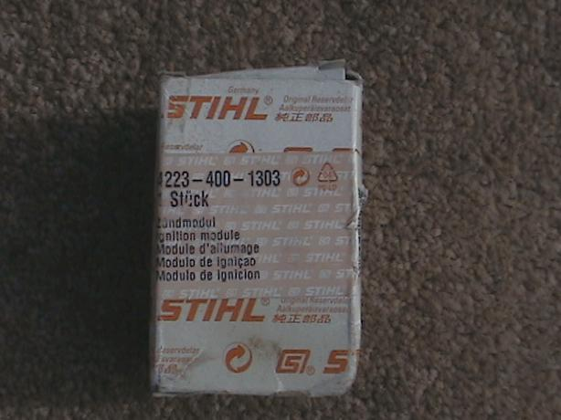 stihl TS400 ignition module/coil