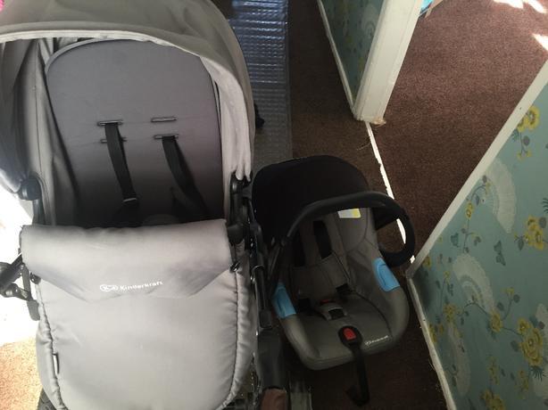 pushchair amd car chair
