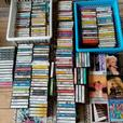Cassettes and dvd