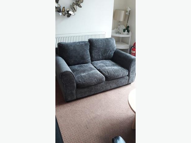 ARGOS Tammy 2 Seater Sofa RRP £300 Charcoal colour