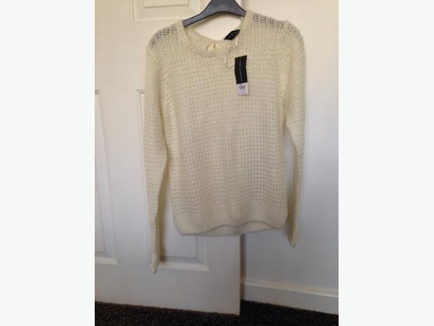 New Dorothy Perkins cream jumper
