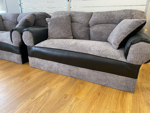2 SEATER FABRIC SOFA -BRANDNEW-FREE DELIVERY