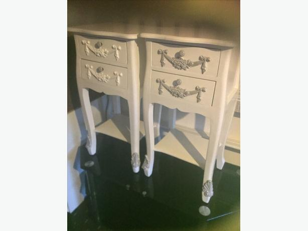 Two bed side tables