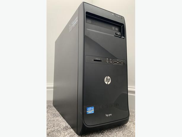 HP PRO MICRO TOWER PC DESKTOP COMPUTER I3 8GB RAM 500GB HD