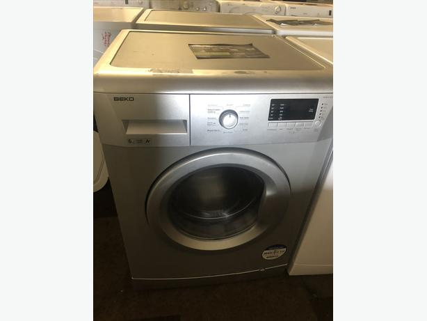 BEKO WASHER IN SILVER WITH GENUINE GUARANTEE//SHOP! PLANET 🌍 APPLIANCE