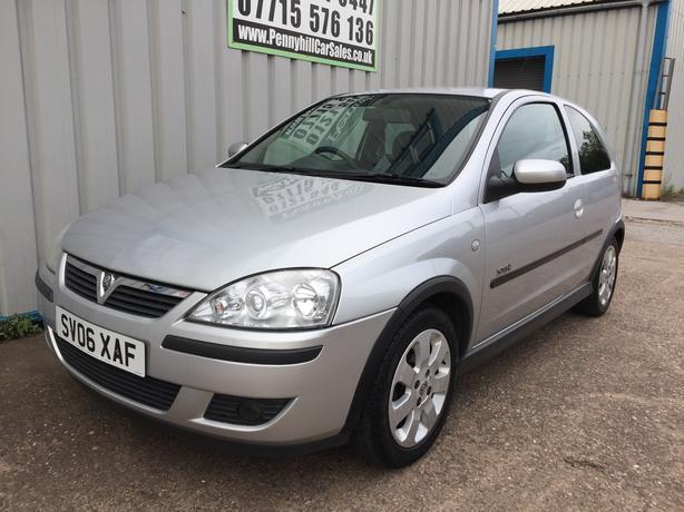 2006 Vauxhall Corsa 1.2 SXI+ *LEATHER INTERIOR & 12 MONTHS MOT*