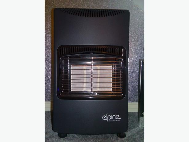 Calor gas heater with bottle used once 2 foot heights £135