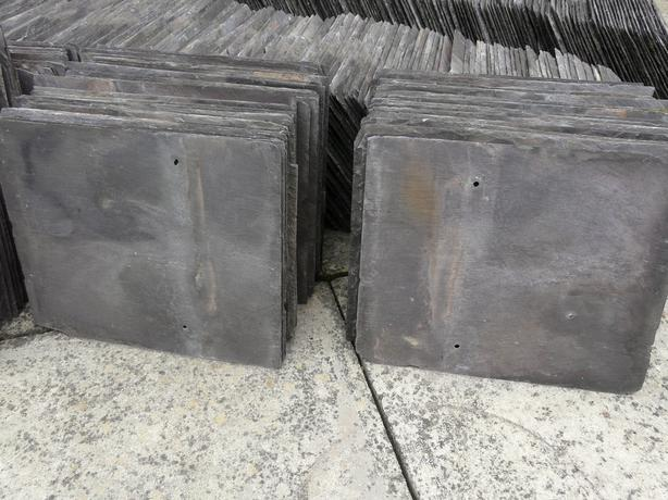 "RECLAIMED ROOF SLATE 12"" x 10"" - 30 tiles per bundle"