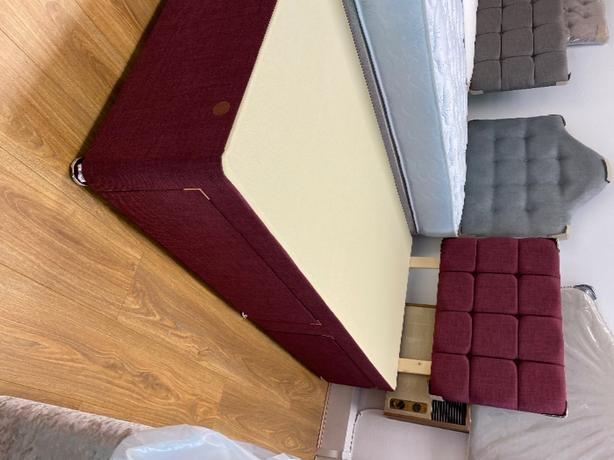 SINGLE DIVAN BED WITH 2 draws and headboard