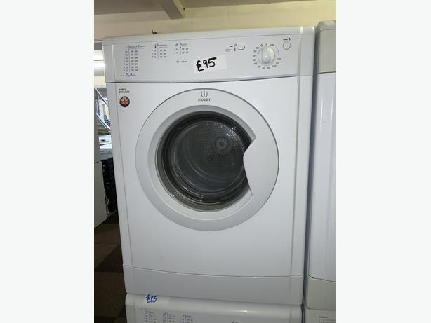 PLANET APPLIANCE - 7KG INDESIT VENTED DRYER WITH WARRANTY