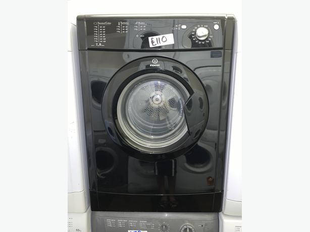 PLANET APPLIANCE - BLACK INDESIT VENTED DRYER