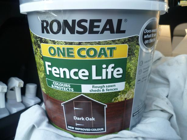 Ronseal Dark Oak