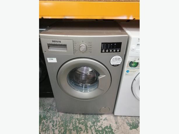 Servis 7kg washing machine with warranty at Recyk Appliances