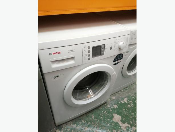 Bosch washing machine 6 kg A+ with warranty at Recyk