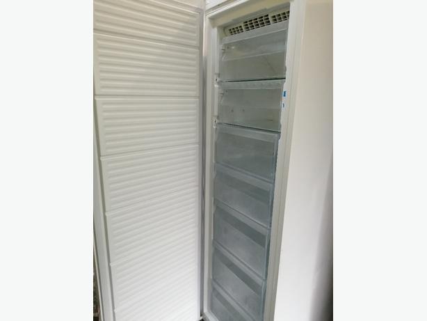 Indesit tall freezer with warranty at Recyk Appliances