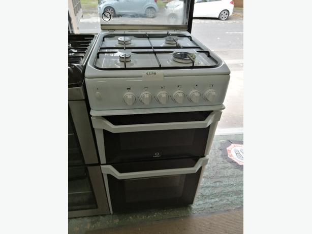 Indesit 50 cm gas cooker with warranty at Recyk Appliances