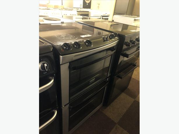 PLANET 🌍 APPLIANCE- ZANUSSI 60CM ELECTRIC DOUBLE OVEN WITH GUARANTEE 🇬🇧