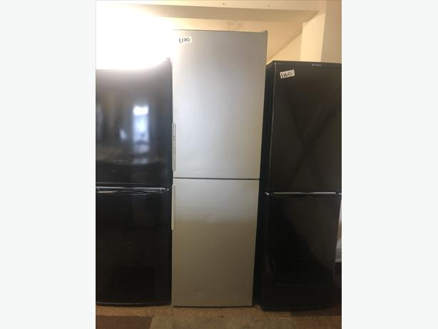 PLANET 🌍 APPLIANCE- HUGE SILVER HOTPOINT FRIDGE FREEZER