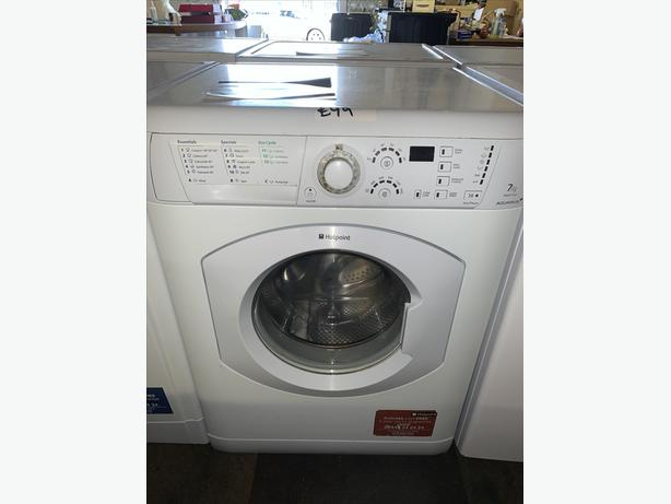 PLANET APPLIANCE - HOTPOINT 7KG LOAD WASHER WASHING MACHINE