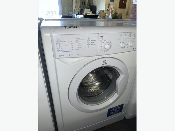 PLANET APPLIANCE - INDESIT 6KG WASHER WASHING MACHINE W WARRANTY