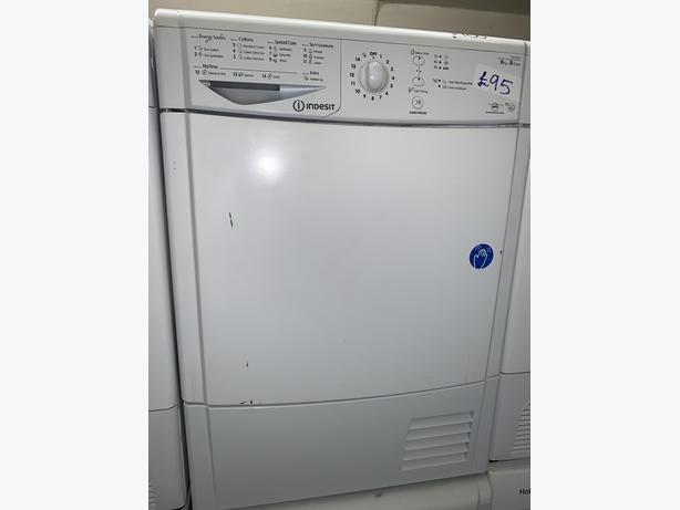 PLANET APPLIANCE - INDESIT 8KG CONDENSER DRYER