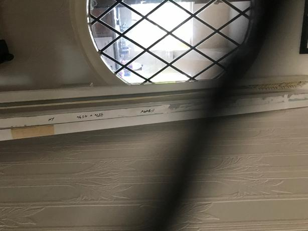 Vertical blind header rail x 3