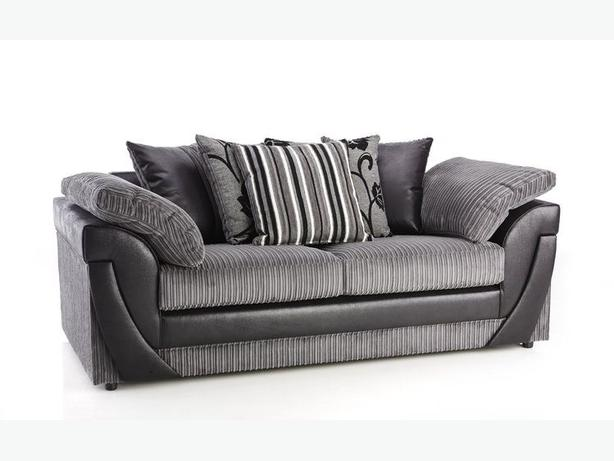 3+2 BRANDNEW WRAPPED SOFA SET IN FABRIC