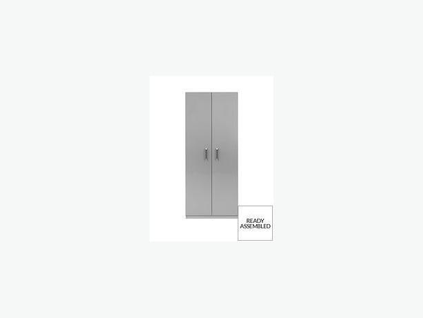 2 DOOR WARDROBE-brandnew FULLY ASSEMBLED