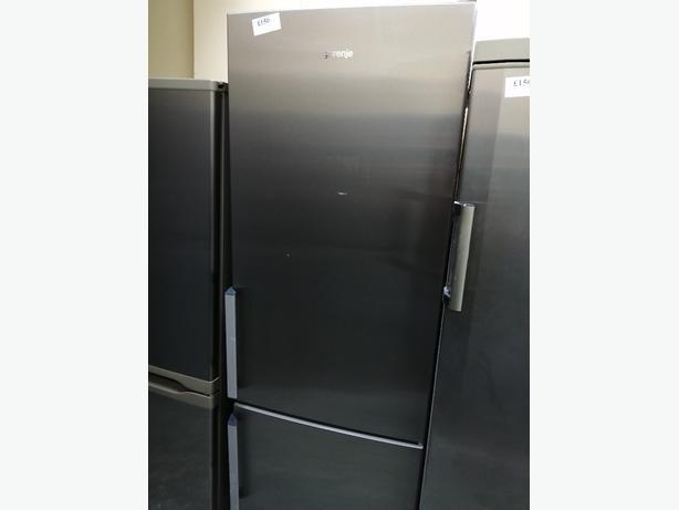 Gorenje tall fridge freezer with warranty at Recyk Appliances