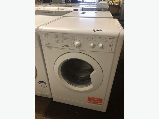 PLANET 🌍 APPLIANCE- 6 KG INDESIT WASHER DRYER WITH GUARANTEE 🇬🇧🇬🇧