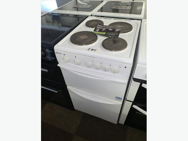 PLANET APPLIANCE - BEKO 50CM ELECTRIC COOKER WITH WARRANTY