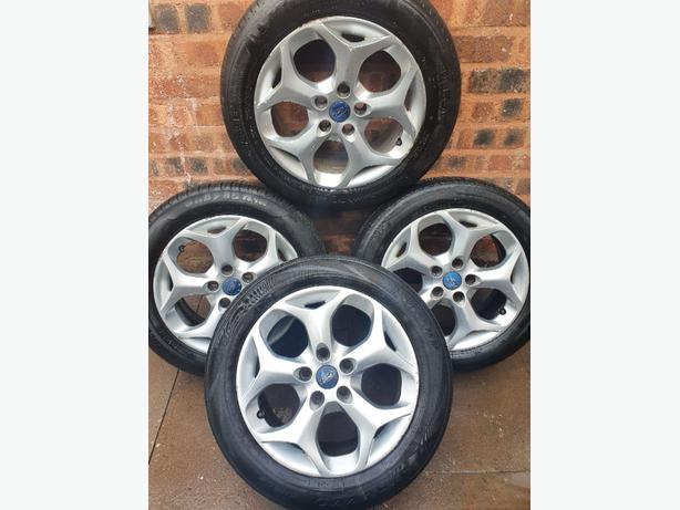 Ford Connect Focus Mondeo C Max Alloy Wheels