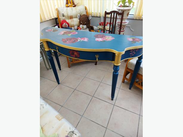 Beautiful Upcycled Hall/Dressing Table