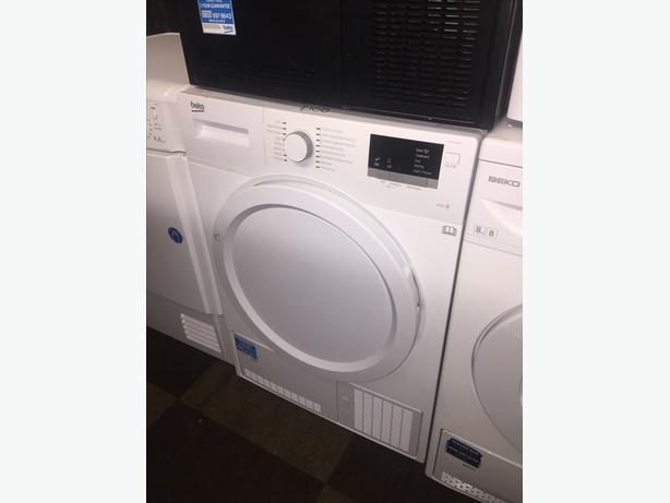 🇬🇧🇬🇧 BEKO 8KG CONDENSER DRYER @ PLANET 🌍 APPLIANCE 🇬🇧🇬🇧