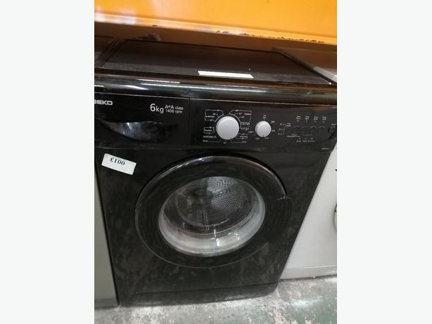 Beko washing machine 6 kg A class with warranty at Recyk Appliances