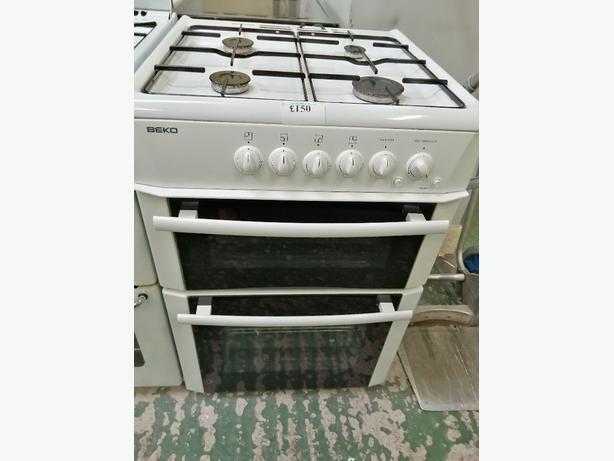 Beko gas cooker 60 cm with warranty at Recyk