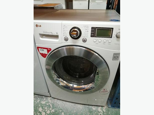 LG washing machine 11 kg with warranty at Recyk Appliances