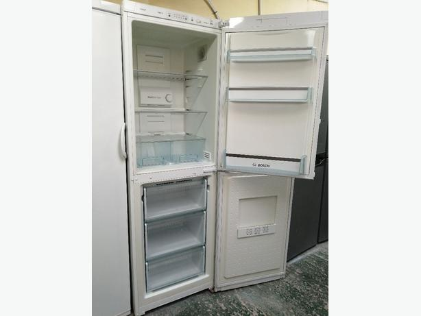 Bosch tall fridge freezer with warranty at Recyk Appliances