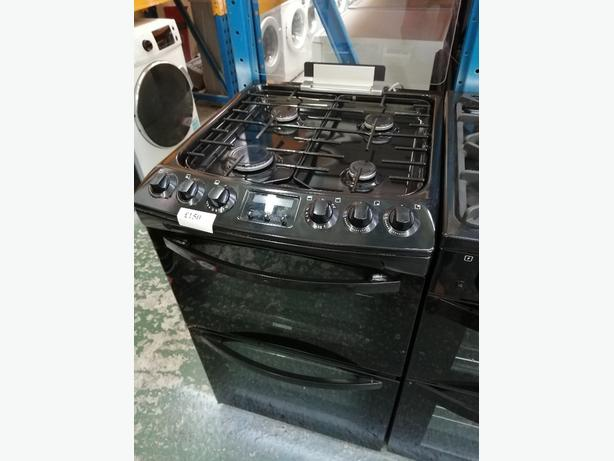 Zanussi 55 cm electric cooker with warranty at Recyk Appliances