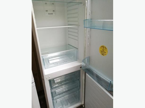 Zanussi fridge freezer with warranty at Recyk Appliances