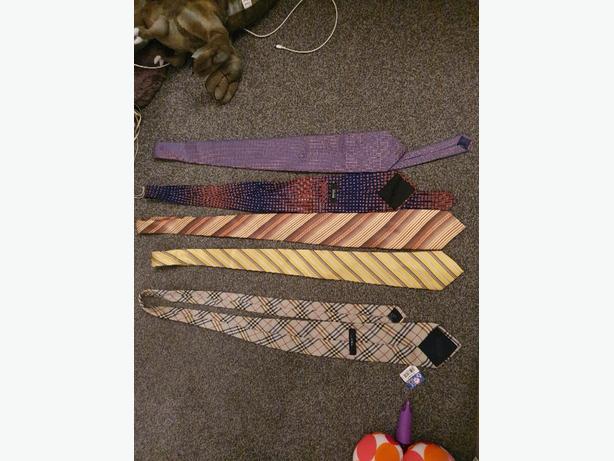 mixture of ties