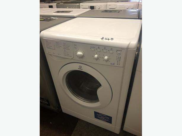 PLANET 🌍 APPLIANCE- INDESIT 6KG LOAD WASHER DRYER WITH GUARANTEE 🇬🇧🇬🇧
