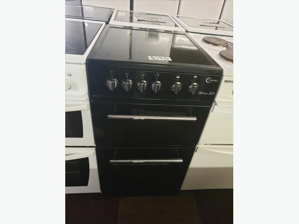 FLAVEL 50CM ELECTRIC COOKER BLACK