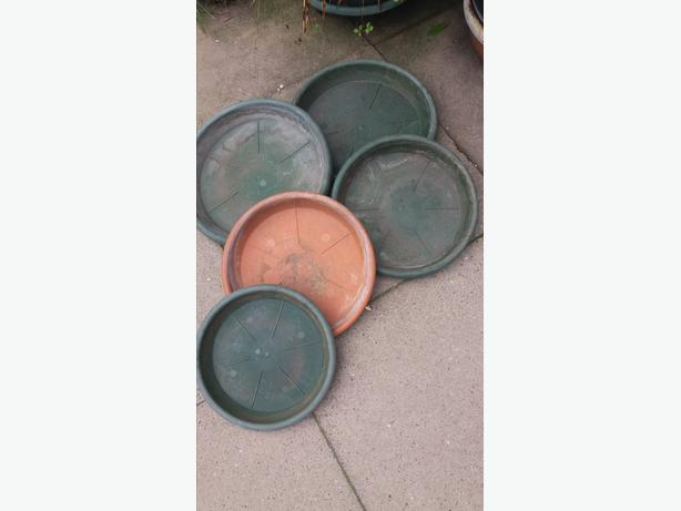 5 Heave Duty Plant Saucers