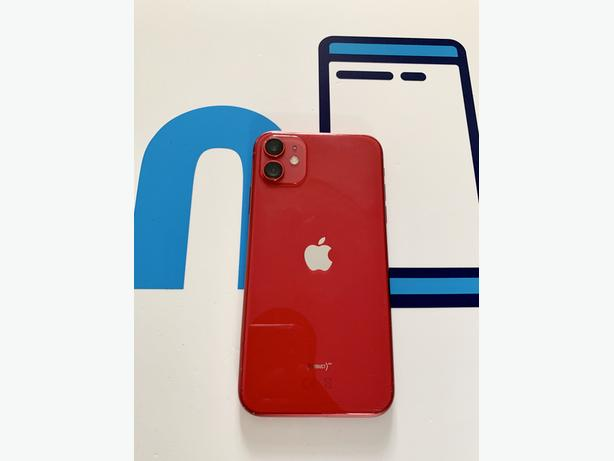 Iphone 11 64Gb unlocked to all networks Red Unboxed + Charger