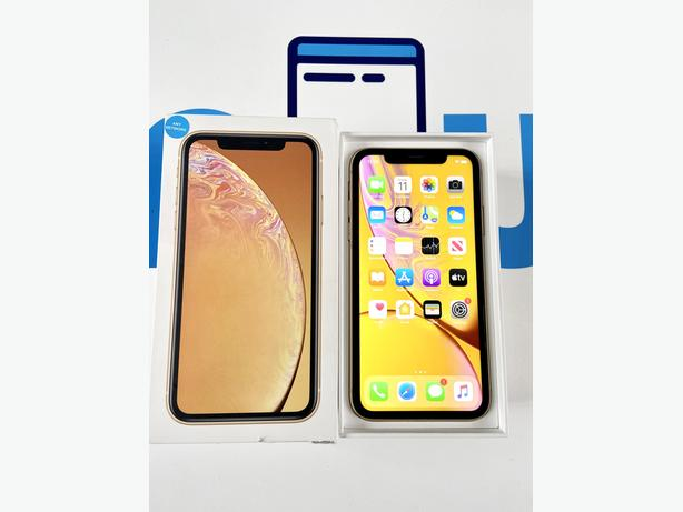 iPhone XR 64GB unlocked to all networks Boxed In Yellow