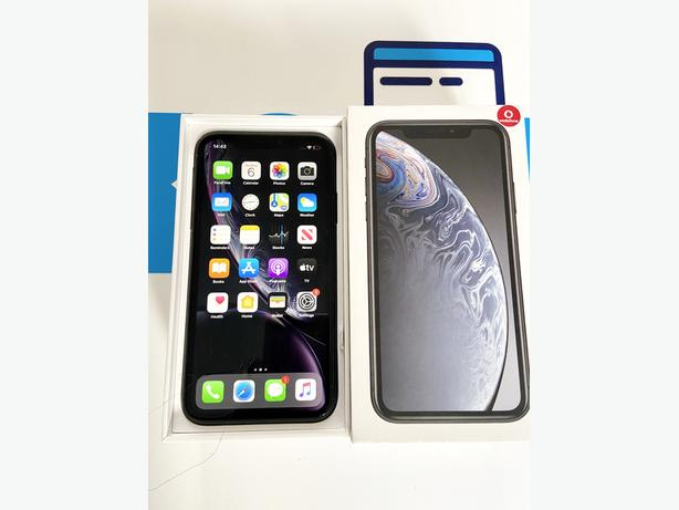 iPhone XR 64GB locked to Vodafone VOXI Lebara Space Grey Boxed